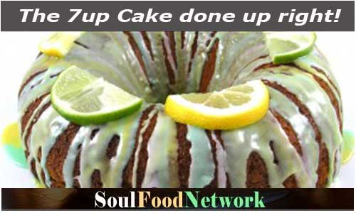 7up cake done up right